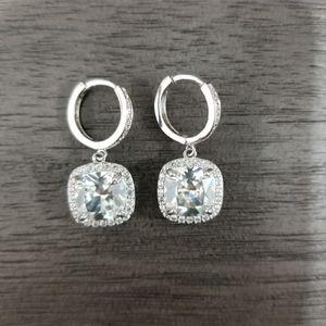 Swarovski embellished drop earrings